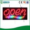 Signe ouvert acrylique du guide d'intérieur DEL de système de Flahing