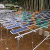 PV Solar Farm System weg vom Grid Sonnensystem
