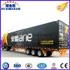 Precio directo de fábrica de 3 Fuwa Eje 50t Bulk Cargo Van / camiones forman la caja de Remolque / Carga Semirremolque Utilidad