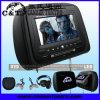 7  Kopflehnen-Auto-DVD-Spieler mit TFT LCD Monitor-Schirm, USB, Sd, Fm, IR-drahtloser Kopfhörer (H708DV)