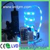 5050 RGB LED Strip Set Whit RGB Controller e LED Dirver