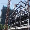 多階の鉄骨構造の建物(SSW-025)