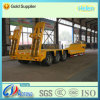 3 eixos 40t-120t Low Bed Cargo Utility Truck Semi Traile