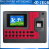 2000 потребителей Fingerprint Time Clock с USB Communication Ko-C110