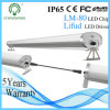 IP65 de Buis van het tri-Bewijs 2*4FT van de Spaander 50W UL/SAA/Ce/RoHS van LEIDENE Epistar van de Verlichting