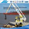 E-Gru idraulica di galleggiamento di manipolazione in blocco 500tph