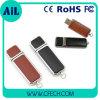 Palillo de cuero de la memoria del USB de la impulsión del flash del USB de los regalos de la promoción
