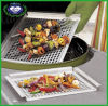 Casserole de gril de BBQ d'acier inoxydable