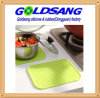 Natte colorée de Tableau de Mat& de pot de silicone de rectangle de produit de cuisine
