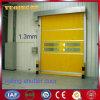 Puerta rápida de la persiana enrrollable del PVC de la ducha de aire (YQRD0095)