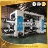 Máquina de impressão plástica de Flexo do rolo de película do PE das cores da alta velocidade 4
