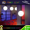 Colores del RGB que cambian la lámpara del techo del LED para la decoración del hogar del hotel