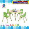Anhebender Stuhl-Plastikkursteilnehmer-Tisch-runder Tisch