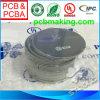 Forma redondo PCB desnudo, lateral doble, máscara azul de la soldadura