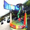 回る3screen 1シートが付いている2016年のFunnestの自動車運転および飛行シミュレータ900degree