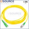 Corde de pièce rapportée optique de fibre et tresse Sc/APC