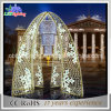 Im Freien wasserdichte Bogen-Motiv-Lichter der Weihnachtslicht-Straßen-Dekoration-LED