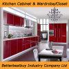 2016ホーム家具のための現代高い光沢のある食器棚