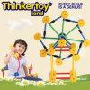 Blocs constitutifs en plastique de jouets éducatifs modèles intéressants de DIY