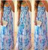 Новое типа способа платье вечера длиной флористическое напечатанное
