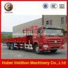 Sinotruk HOWO 6X4 carro de 10 toneladas con la grúa de XCMG