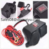 De Aansteker Waterproof Sockets Splitter Charger Power Adapter van de motorfiets 12V/24V met Switch met Haven USB
