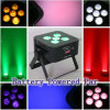 Nieuwe High 6*15W Op batterijen 5in1 LED PAR /LED Flat Light/Wireless DMX Battery LED Uplights