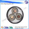 Mv XLPE Insulated PVC Sheathed Thin Steel Wire Armored Electrical Power Cable