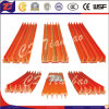 Sistema de cobre elétrico flexível seguro da barra do guindaste do trilho do condutor
