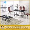 10 Seaterの正方形の大理石のダイニングテーブルを安定させなさい