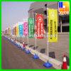 Bandera al aire libre publicitaria barata de la exhibición de la bandera