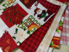 O Natal imprimiu mini Matt, tela impressa Minimatt impressa de Garbandin da tela de pano de tabela 100%Polyester