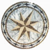 Marble naturale Stone Waterjet Medallion per Hotel Corridoio (MML003)