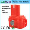 Batería de la herramienta de 9120 reemplazos