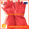 Ddsafety 2017の赤牛分割された溶接手袋の完全なライニング