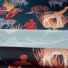 Ropa impresa nuevo diseño del satén y tela de materia textil casera