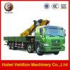 Sinotruk HOWO 8*4 25ton Truck Mounted Crane