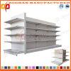 A fábrica personalizou o Shelving do indicador da gôndola da parte traseira lisa do supermercado (Zhs298)
