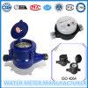 Caudalímetro plástico de agua en azul (material ABS)