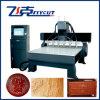 6 Köpfe CNC-Holzbearbeitung-Gravierfräsmaschine CNC, der Maschine schnitzt