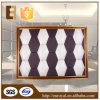 Decorative modificado para requisitos particulares Soft 3D Leather Wall Panel