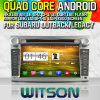 Subaruの奥地のためのWitson S160 Car DVD GPS PlayerかRk3188 Quad Core HD 1024X600 Screen 16GB Flash 1080P WiFi 3G Front DVR DVB-TミラーLink (W2-M061)とのLegacy