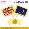 Abitudine Metal BRITANNICO Lapel Flag Badge con il Pin