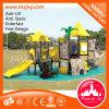Скольжение Preschool напольной пригодности гимнастики спортивной площадки пластичное