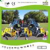 Brinquedo de escalada modular das crianças de Kaiqi para o campo de jogos (KQ50145D)