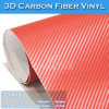Polímero Car Wrapping fibra del carbón 3D de Cine Vinilo