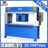 Hg-C25t Hydraulic Traveling Head Cutting Machine per Fabric, Leather, Foam
