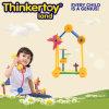 Jouets en plastique éducatifs de Tableau de blocs constitutifs d'approvisionnement d'école
