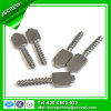 Kundenspezifische spezielle Hauptschraube des Stahl-M4 für Maschinerie