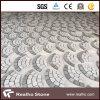 White&Grey Granite Cobble/Cube/Paving Stone con il Ventilatore-Shape